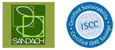 Certificados ISCC y SANDACH